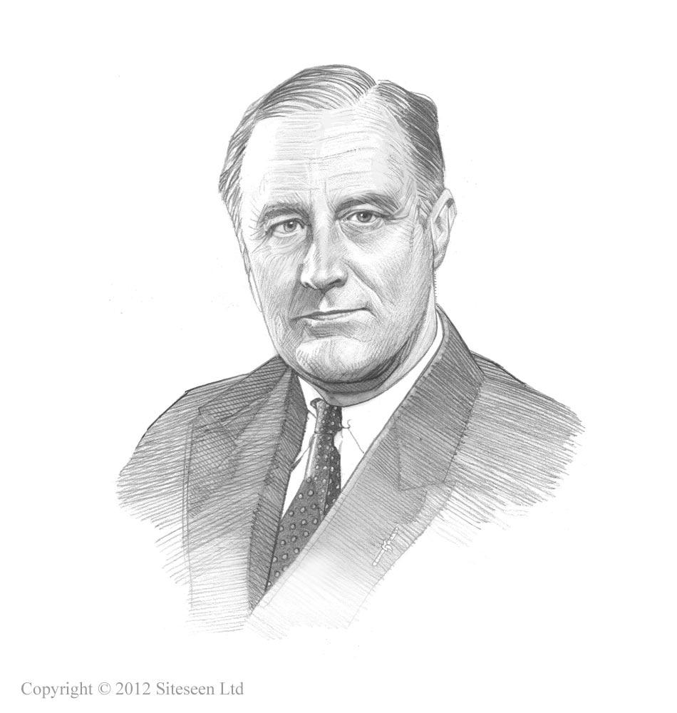 Picture Of Franklin Roosevelt