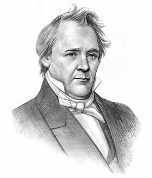 In 1791 on this day the American statesman James Buchanan, Jr. was born to parents of Ulster Scots descent in a log cabin in Cove Gap, Franklin County, Pennsylvania. During an unstable period of vacillating national leaders, he stood out as as one of the few national politicians willing to take a principled stand on the integrity of the Union.